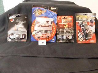 Dale Earnhardt Die Cast Cars  3  Flashlight Car