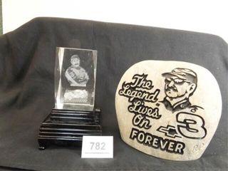 Dale Earnhardt Memorial Pieces  2
