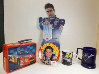 Jeff Gordon Collection of Items  5