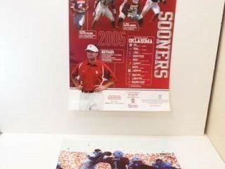 2005 OU Football Poster  OU vs  TX Photo