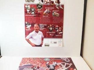 OU Football  Switzer Era  Posters  2 2 Signatures