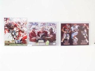 OU Football Photos  with Signatures  3