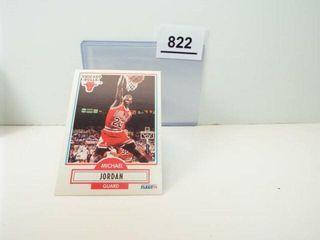 1990 Fleer Michael Jordan Basketball Card