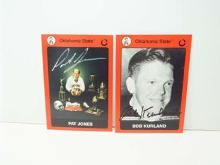Oklahoma State Signed Cards  2