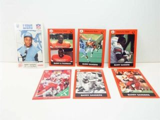 Barry Sanders Football Cards  7