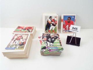 Football Topps Cards  approx 120