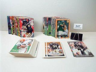 Football Fleer Cards  approx 225