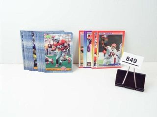 Football Cards 1993 Classic  1990 Score  25