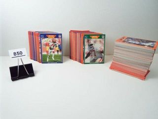 Football 1989 NFl Cards  approx 300
