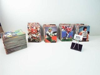 Football 1992  1993 Topps Cards  approx 450