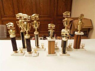 Trophies   Hog  9    trophy parts
