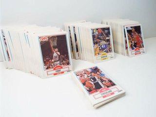 Basketball 1990 Fleer Cards  approx 325