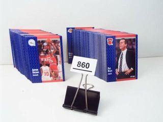 Basketball 1991 Fleer Cards  approx 200
