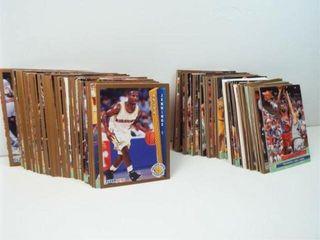 Basketball 1992 93 Fleer Cards  approx 125