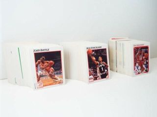 Basketball 1991 NBA Hoops Cards  approx 250