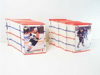 Hockey 1990 Score Cards  approx 225