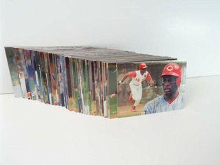 Baseball 1995 Fleer Cards approx 100