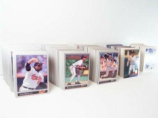 Baseball leaf Cards  approx 500