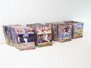 Baseball 1992 Fleer Cards  approx 350
