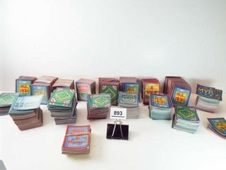Baseball Score Small Hologram Cards  approx 750