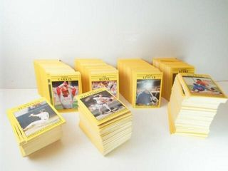 Baseball 1991 Fleer Cards  approx 1000