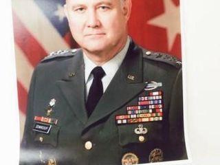 General Norman Schwarzkopf Jr Photo  20  x 16