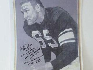 Bill Krisher Signed Print  8  x 10