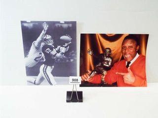 Barry Sanders Heisman Photo   83 Football Photo