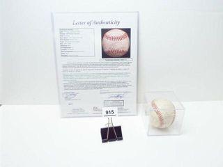 1945 Boston Red Sox Team Signed Baseball  Verified