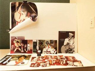 Elvis Presley Souvenir Program  Martial Arts Photo