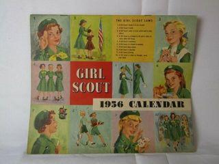 1956 Girl Scout Calendar