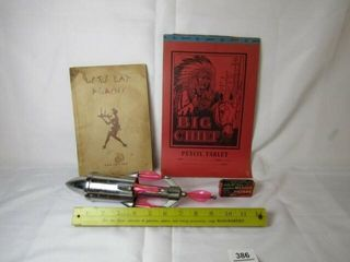 Books  toy  rulers  pipe filters