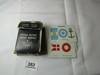 Navy Military Aircraft Markings Cards