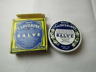 White Cloverine Brand Salve