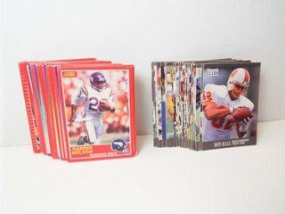 Football Score  Fleer Cards  approx 75