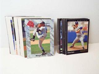 Baseball Pinnacle  Classic Cards  approx 25