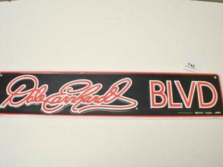 Dale Earnhardt BlVD Sign