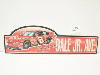 2001 Dale Jr  Ave  Sign