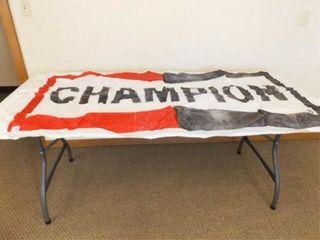 Champion Flag  32  x 70  has wear