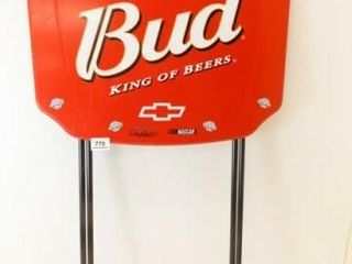 Budweiser  Earnhardt Folding Table