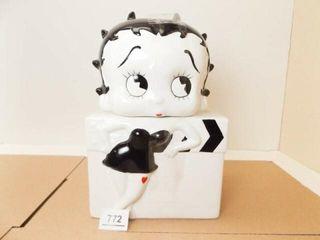 Betty Boop Cookie Jar  Medwin Brand