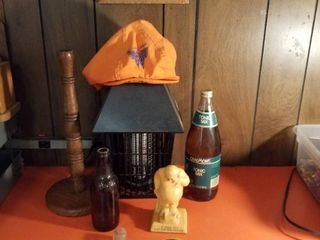 Bug zapper  paper towel holder  Wichita Wings hat  picture and more