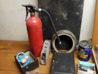 Fire extinguisher  nails  boob pacifier  electric box and more