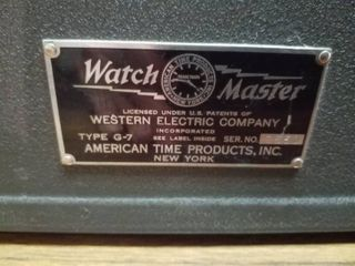 Antique watch timer