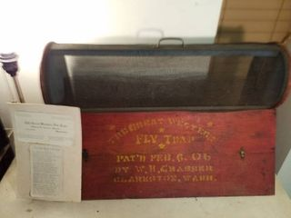 1906 The Great Western Fly Trap with paperwork