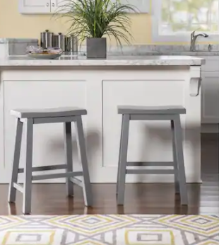 Ashen Grey Counter Stool  Retail 75 48