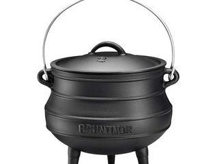 African Potjie Cauldron Pot   Cast Iron Pre Seasoned Potjie African Pot Retail 98 95