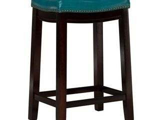 linon Claridge 26  Backless Wood Counter Stool