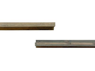 Del Hutson Designs Rustic luxe Shelf   Set of Two
