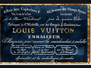 louis Vuitton   Emballeur Canvas   16 x 24